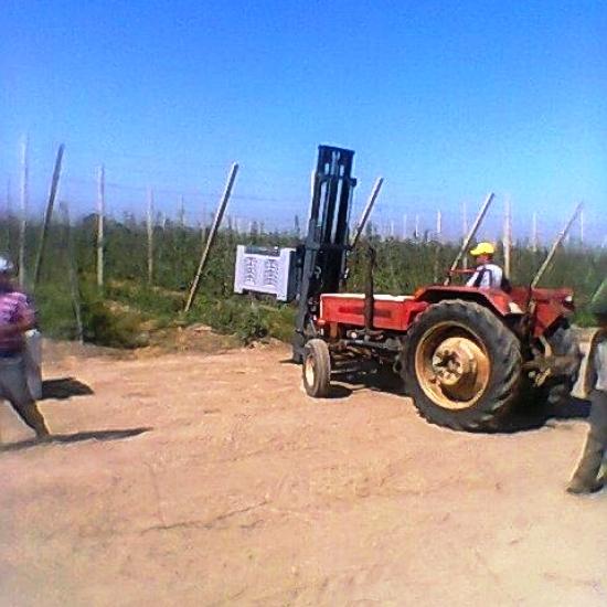 Traktör ön forklift imalatı (2)
