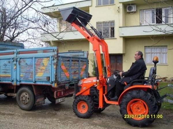 Traktör kepçe Kubota (5)