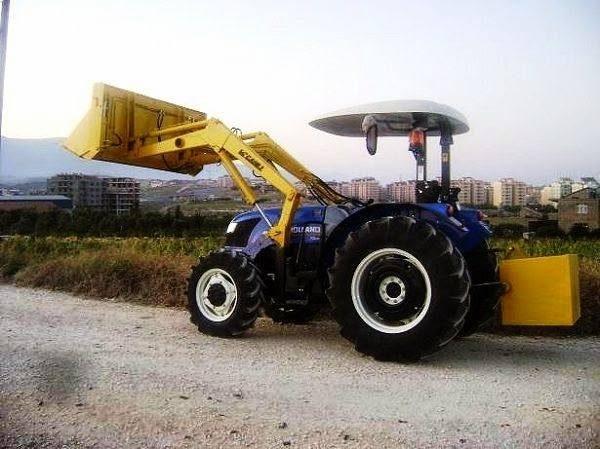 Traktör kepçe New Holland (6)