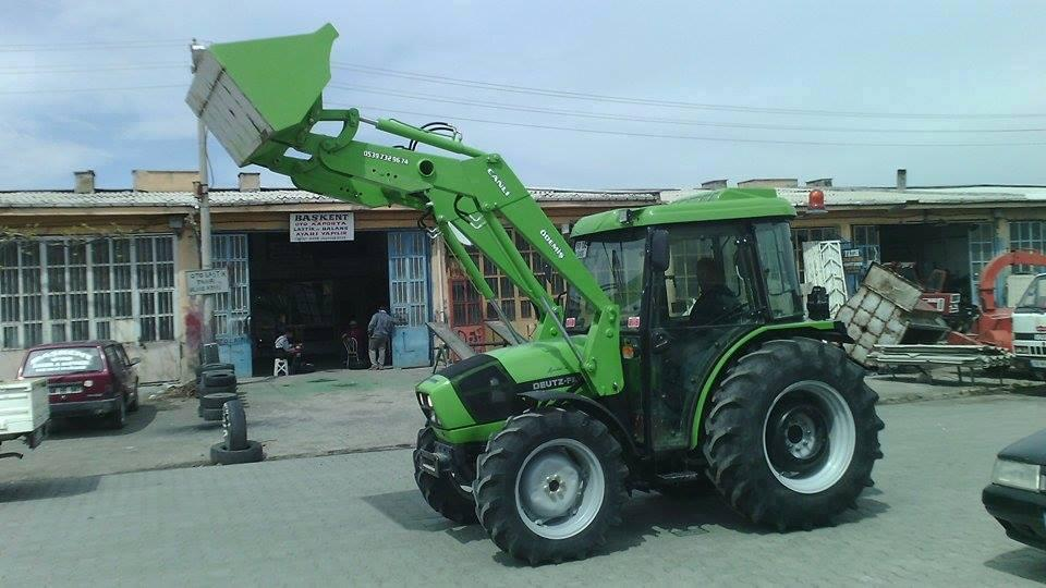 Traktör kepçe imalatı ödemiş izmir