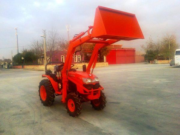 satılık kubata traktör kepçe