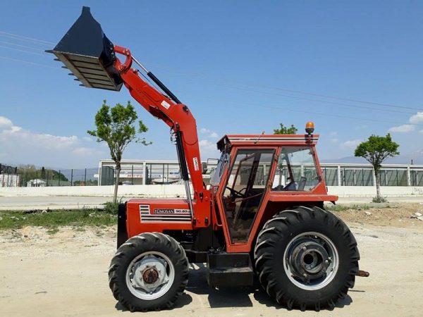 traktör kepçe ön yükleyici kepçe Tümosan (12)
