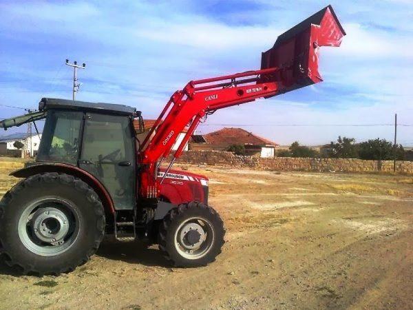 satılık traktör ön yükleyici kepçe (215)