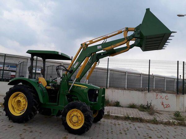 traktör ön yükleyici kepçe imalatı satılık .