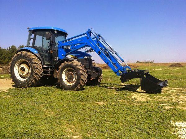 traktör ön yükleyici kepçe imalatı new holland td 100 (3)