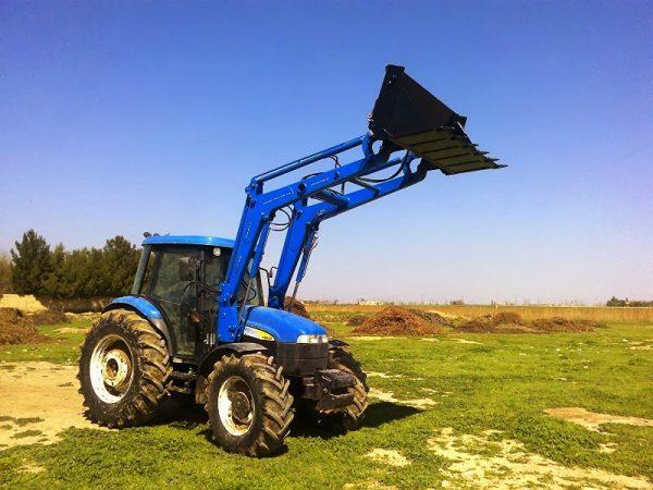 traktör ön yükleyici kepçe imalatı new holland td 100 (5)