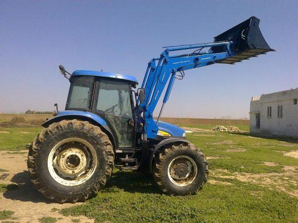 traktör ön yükleyici kepçe imalatı new holland td 100 (8)